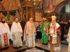 Metropolitan Isychios leads the divine Liturgy