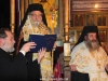 Hegoumen Bartholomew and the Most Reverend Isychios during Vespers