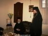 Fr Makarios at the hegoumeneion