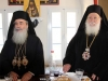 The Patriarch and the Metropolitan of Nazareth