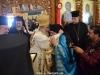 His Beatitude congratulates Archimandrite Christophoros on his work