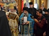 Archimandrite Christophoros offering gifts
