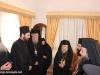 Nun Seraphima hosts Primates to a reception