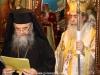Archimandrite Eusebius reads the sermon in Russia