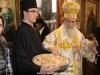 The Patriarch distributes the antidoron