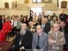 The pious parishoners at St Patrick's church
