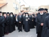 Priests welcome His Beatitude to Abu Snan