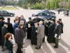 Officials arrive at the Zappeion Megaron
