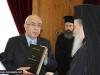 "H.B. offersss Mr Omirou the ""History of the Church of Jerusalem"" volume"