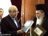 The President of the Cyprus House of representatives offers books on Famagusta and Kyrenia