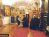 Patriarch Theophilos reads the prayer of forgiveness