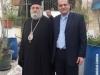 The Metropolitan of Kapitolias with Mr Amas