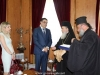 Mr Kouyalis meets with the Patriarch