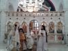 His Eminence and fathers Leontios, Ioustinos, Nikitas