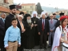 The Patriarch arrives at the Church of the Prophet Elias, Haifa