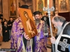 The Patriarch worships the Nymphios icon