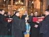 The choir under Archimandrite Aristovoulos