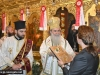 H.B. offers the Ambassador an icon of the Holy Sepulchre