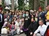 The Patriarch with Romanian pilgrims