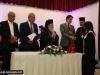 His Beatitude and Mr Koinis congratulate graduates