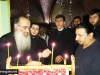 Archimandrite Aristovoulos with students