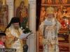 The Patriarch delivering the sermon