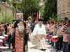 Archimandrite Ioustinos during the procession