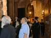 The Patriarch and Entourage inspect restoration works