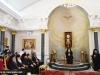 Archimandrite Eusebius addresses guests in Russian
