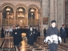 His Beatitude and Entourage in the Church of the Resurrection