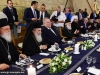 His Beatitude Theophilos attends lunch with the Heads of Churches