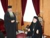 Metropolitan Ioustinos addresses the Metropolitan of Kapitolias
