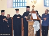 The Archbishop of Qatar and members of the Bishopric of Sitia, singing