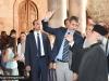 The Elder Secretary-General shows Mr Mitsotakis around