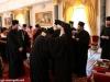 H.B. offers eulogias to priests