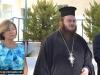 Principal Amira Sanaa and Archimandrite Ieronymos