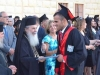The Patriarch awards the graduation titles