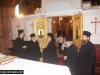 His Beatitude and Entourage at the Church of the Annunciation