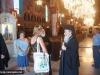 The Patriarch and Entourage toured around the Church