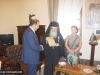 His Beatitude offers an icon of Theotokos to the Mayor of Rhodes