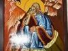 The icon of the Prophet Elias, drawn by Nun Thaboria
