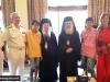 H.B. at the meeting with Metropolitan Anthimos of Salonika