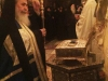 H.B. venerates the relics of St Anna