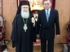 The new Ambassador of Greece to Israel visits the Patriarchate
