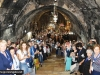 Welcoming the Hagiotaphites to the holy site in Gethsemane