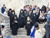 H.B. and Entourage walk to the Holy Site in Gethsemane