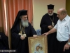H.B. offers the Community an icon of Theotokos