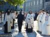 Priests in sacerdotal vestments