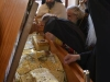 H.B. venerates the holy relic of St Arsenius