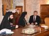 Mr Poroshenko in the Sacristan's Office